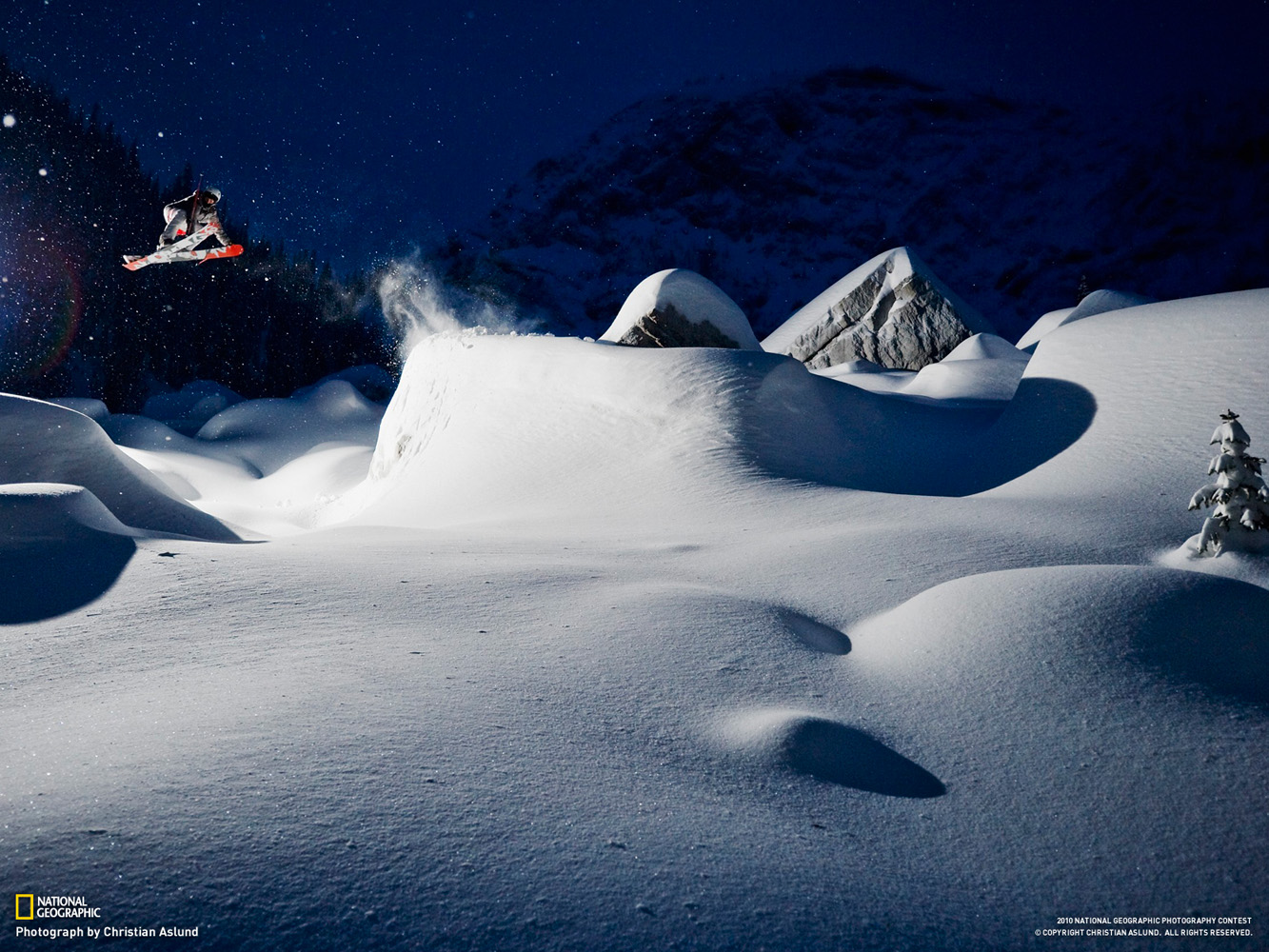 Location: Fernie, Canada Skier: Adam Falk