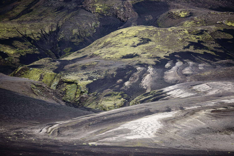 Dramatic volcanic landscape, mountains at Landmannalaugar, Fjallabak Nature Reserve, Highland of Iceland