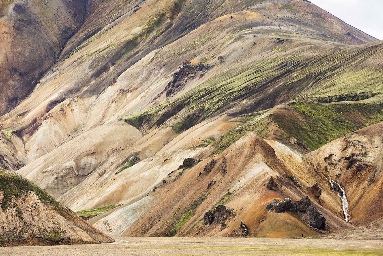 Colorful rhyolite mountains at Landmannalaugar, Fjallabak Nature Reserve, Highland of Iceland