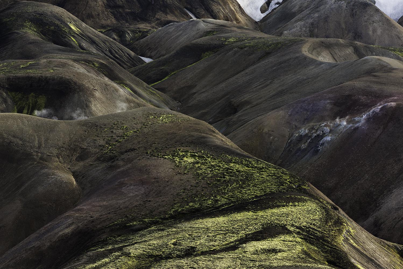 Colorful mountains at Landmannalaugar, Fjallabak Nature Reserve, Highland of Iceland
