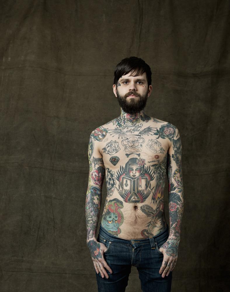 Erik, Tattoo Artist