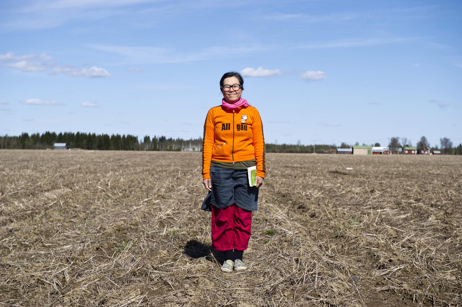 Haparanda, Sweden Akiko Frid, Activist