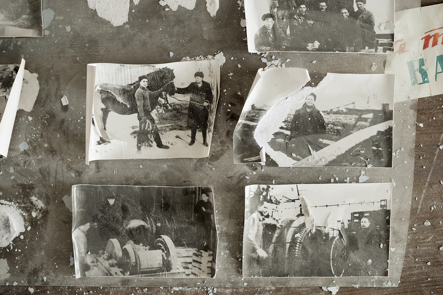 Old faded photographs from the Soviet Union at the glory days of the PyramidPyramiden is a Russian settlement and coal mining community on the archipelago of Svalbard, Norway. Founded by Sweden in 1910 and sold to the Soviet Union in 1927, Pyramiden was closed in 1998 and has since remained largely abandoned with most of its infrastructure and buildings still in place.