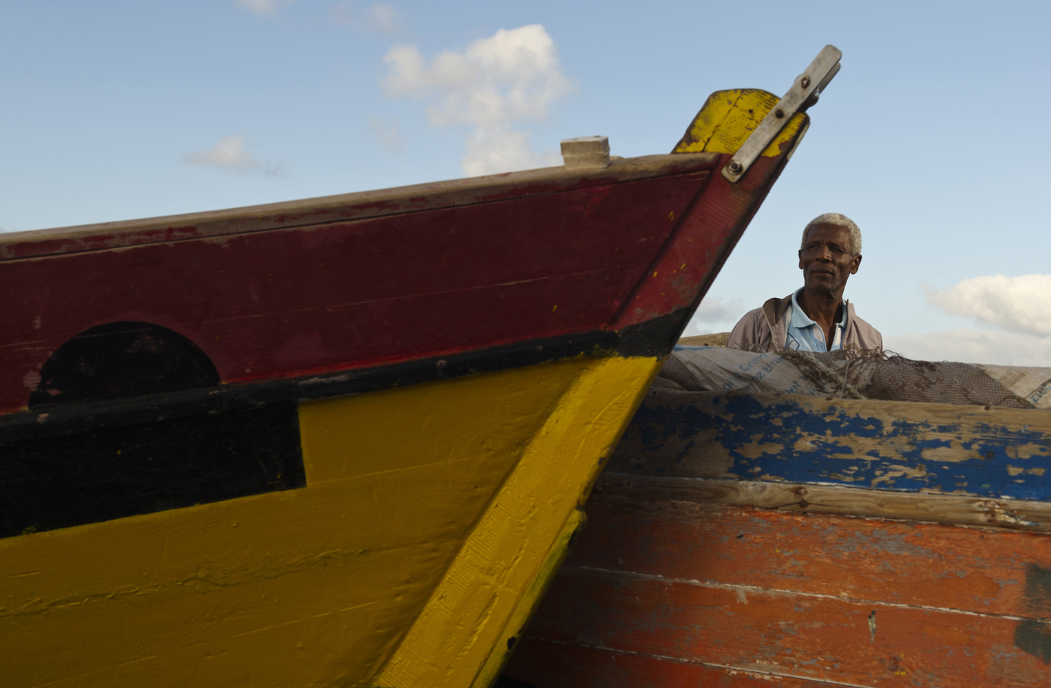 Armando Louis Fortes, Fishermen from Salamansa, Sao Vicente Fishermen Association.