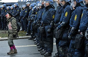 Cop-15 climate meeting in Copenhagen, Denmark.